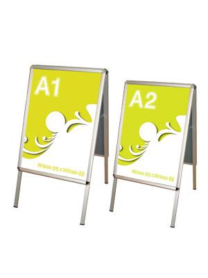 A1 og A2 A-skilt
