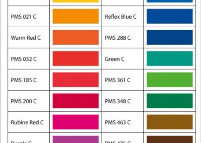 Standardfarver-minestrimmel