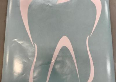 Folietekster tand