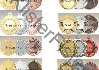 Medaljer 25 mm emblem